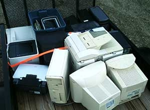 load for recycled electronics